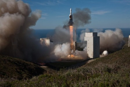 Launch of Delta IV NROL-49, Vandenberg AFB, California. January 20, 2011